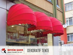 Dekoratif Tente